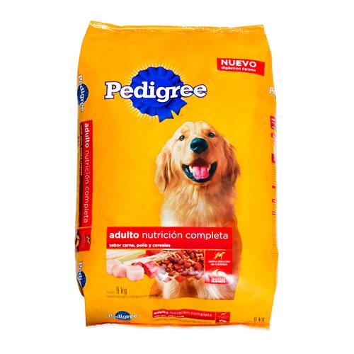 Alimento para perro adulto sabor carne, pollo y cereales