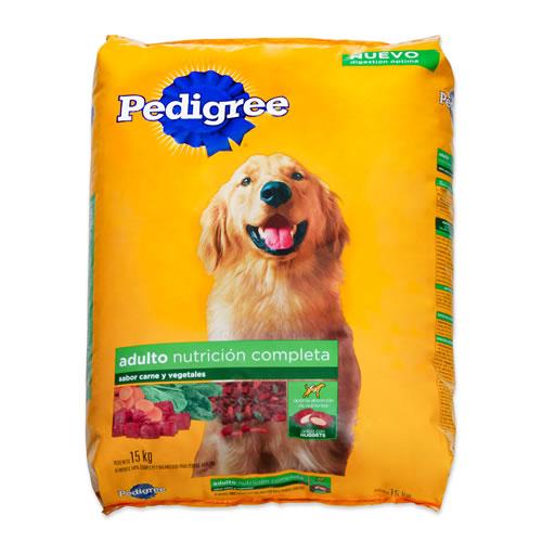 Alimento para perro adulto sabor carne y vegetales