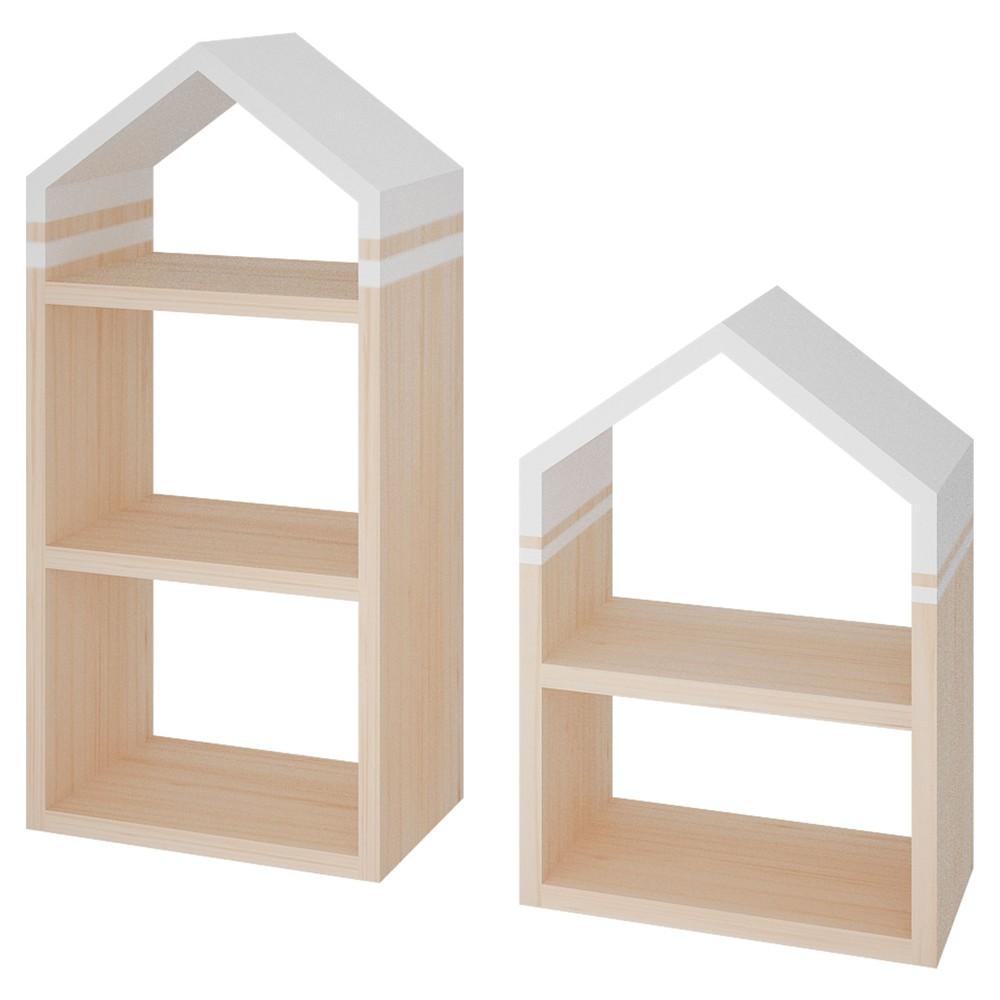 Set mi casita 2 casitas 80x35 y 60x35