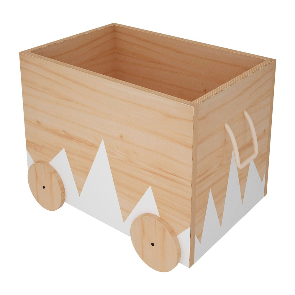 Caja organizadora infantil con ruedas andes 60x40x50