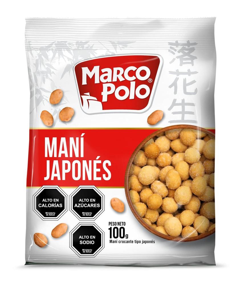 Maní tipo Japonés