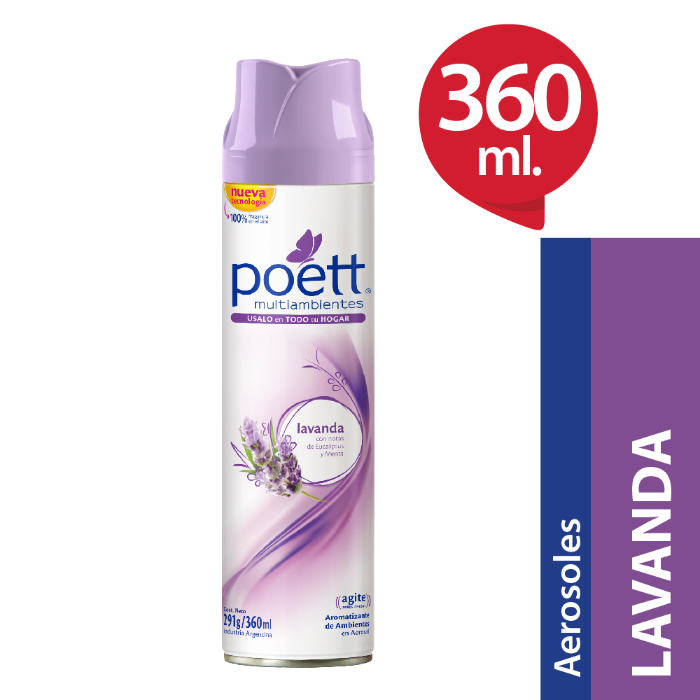 Desodorante ambiental lavanda Aerosol 360 ml