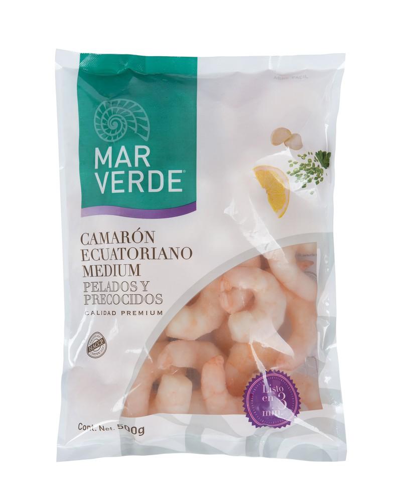 Camarón ecuatoriano cocido 500 g