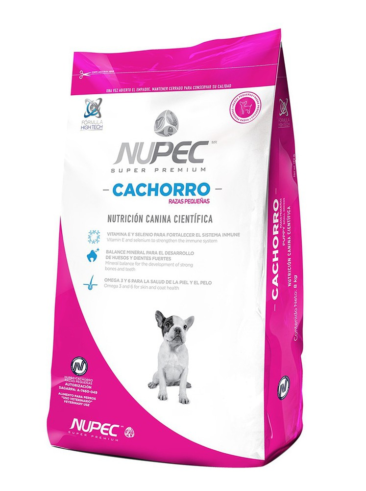 Alimento para cachorro razas pequeñas 2 kg