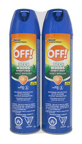 OFF!® Deep Woods® Sportsmen Aerosol 230 g (2 PACK)