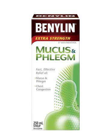Extra strength mucus & phlegm relief syrup