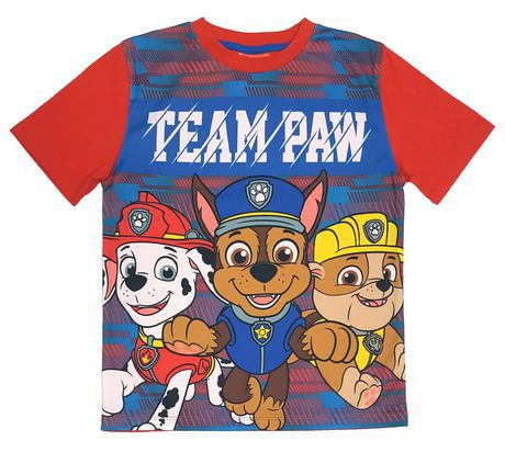 Paw Patrol Boys Short Sleeve T-Shirt
