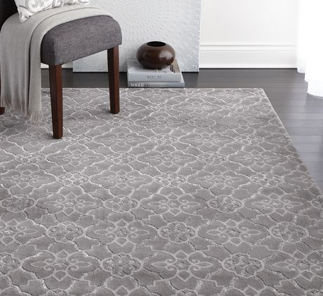 Hometrends Wavy Trellis Rug At Home