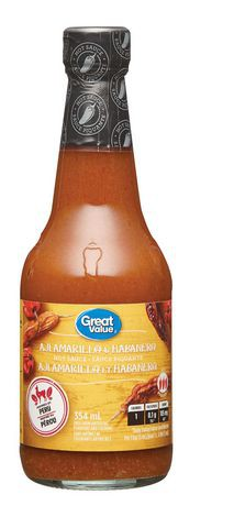 Great Value Aji Amarillo and Habanero Hot Sauce