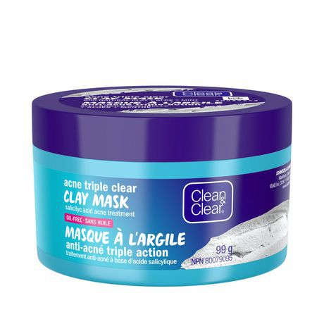Clean & Clear Acne Clay Face Mask Treatment