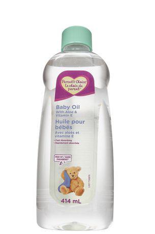 Parent's Choice Baby Oil with Aloe & Vitamin E