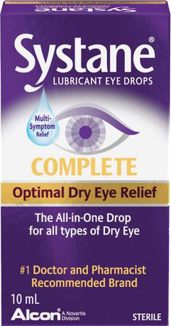 Systane® Complete Lubricant Eye Drops 10 ml