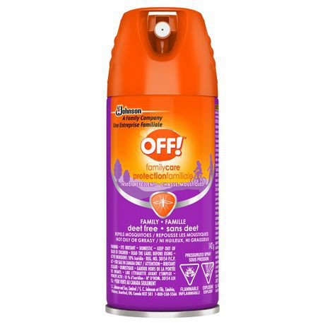 OFF! Family Care Aerosol Insect Repellent - Deet Free