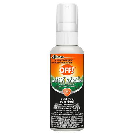 OFF! Deep Woods Pump Spray Insect Repellent - Deet Free, 118ml