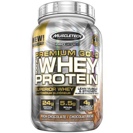 Pro Series Premium Gold 100% Whey Protein Rich Chocolate Powder