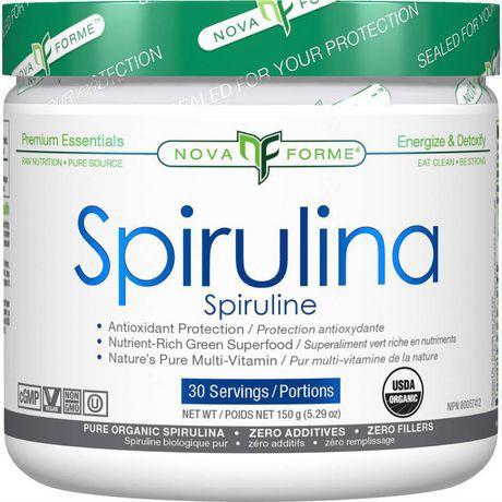 Novaforme SUPER GREEN Spirulina Powder