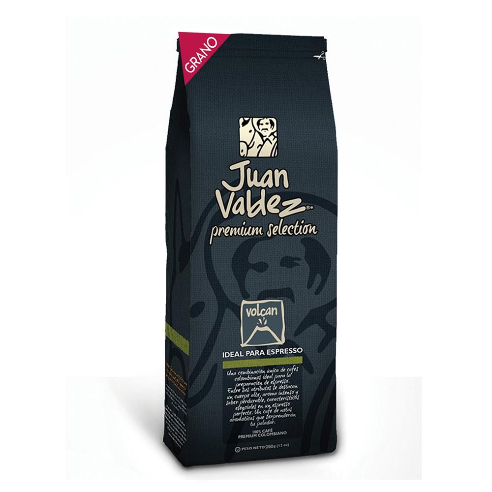 Café grano fuerte volcán