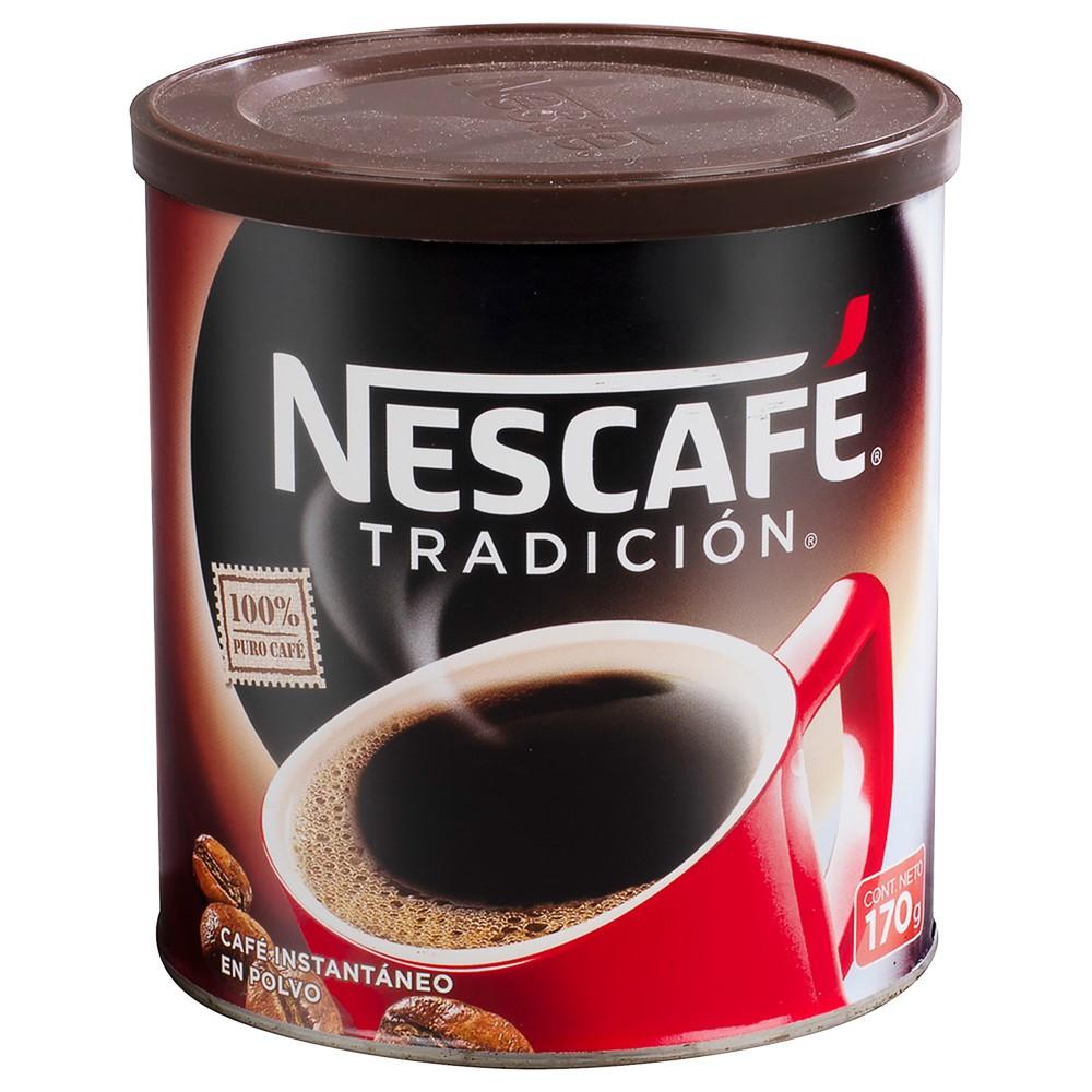 Café instantáneo tradición pote