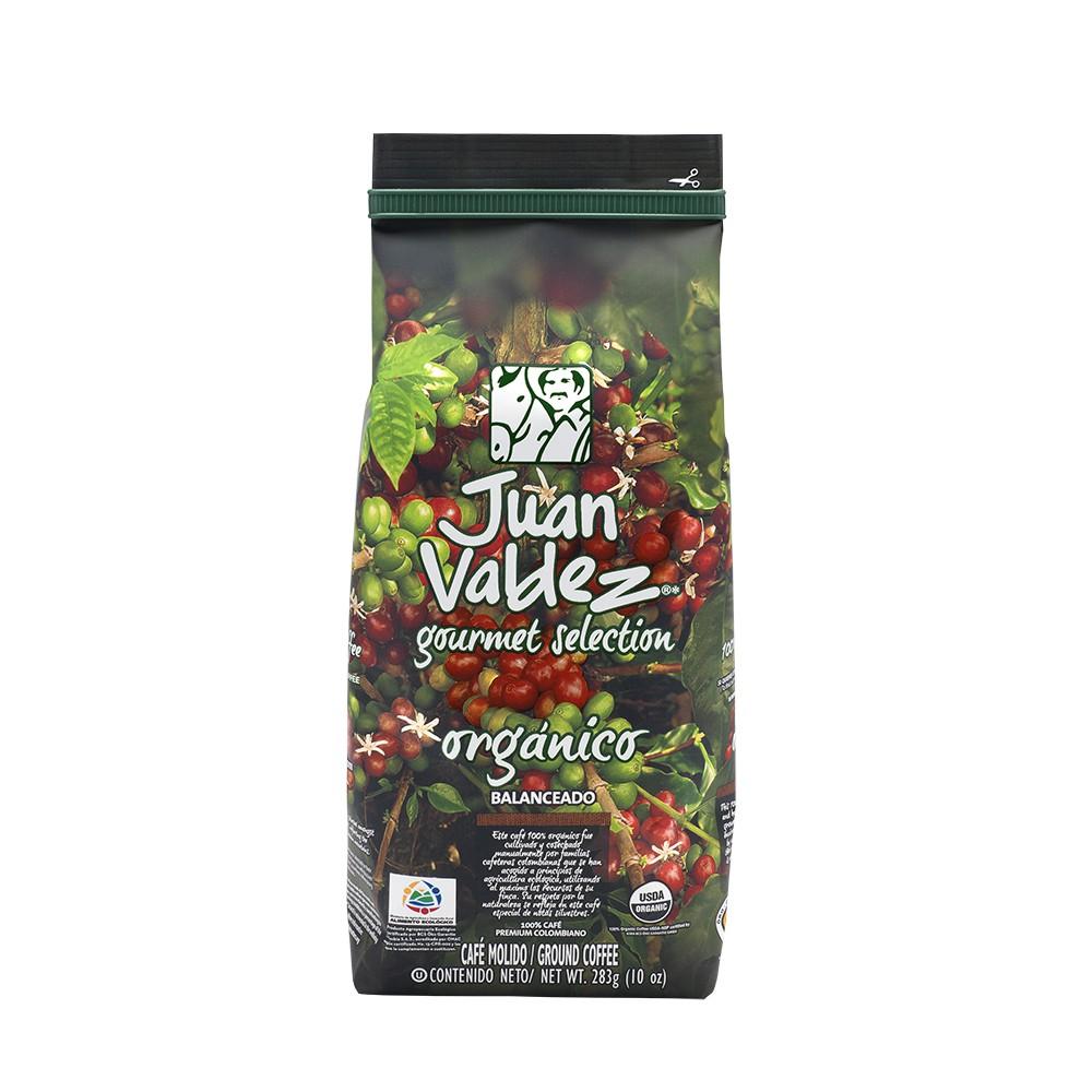 Café grano molido balanceado orgánico