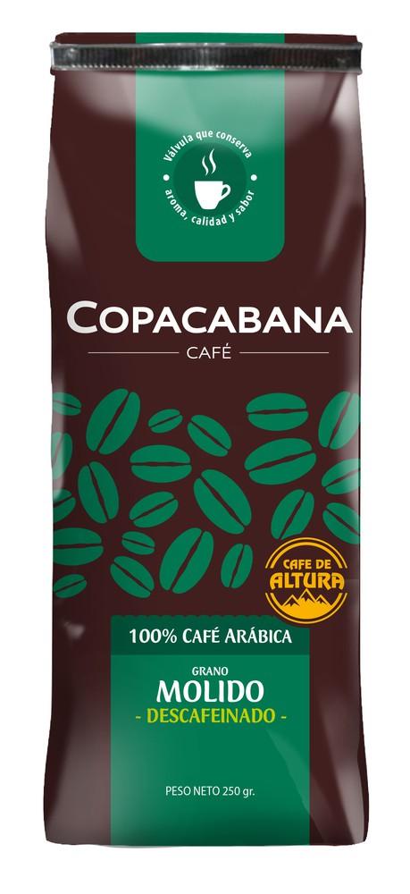 Café molido descafeinado Bolsa 250 g
