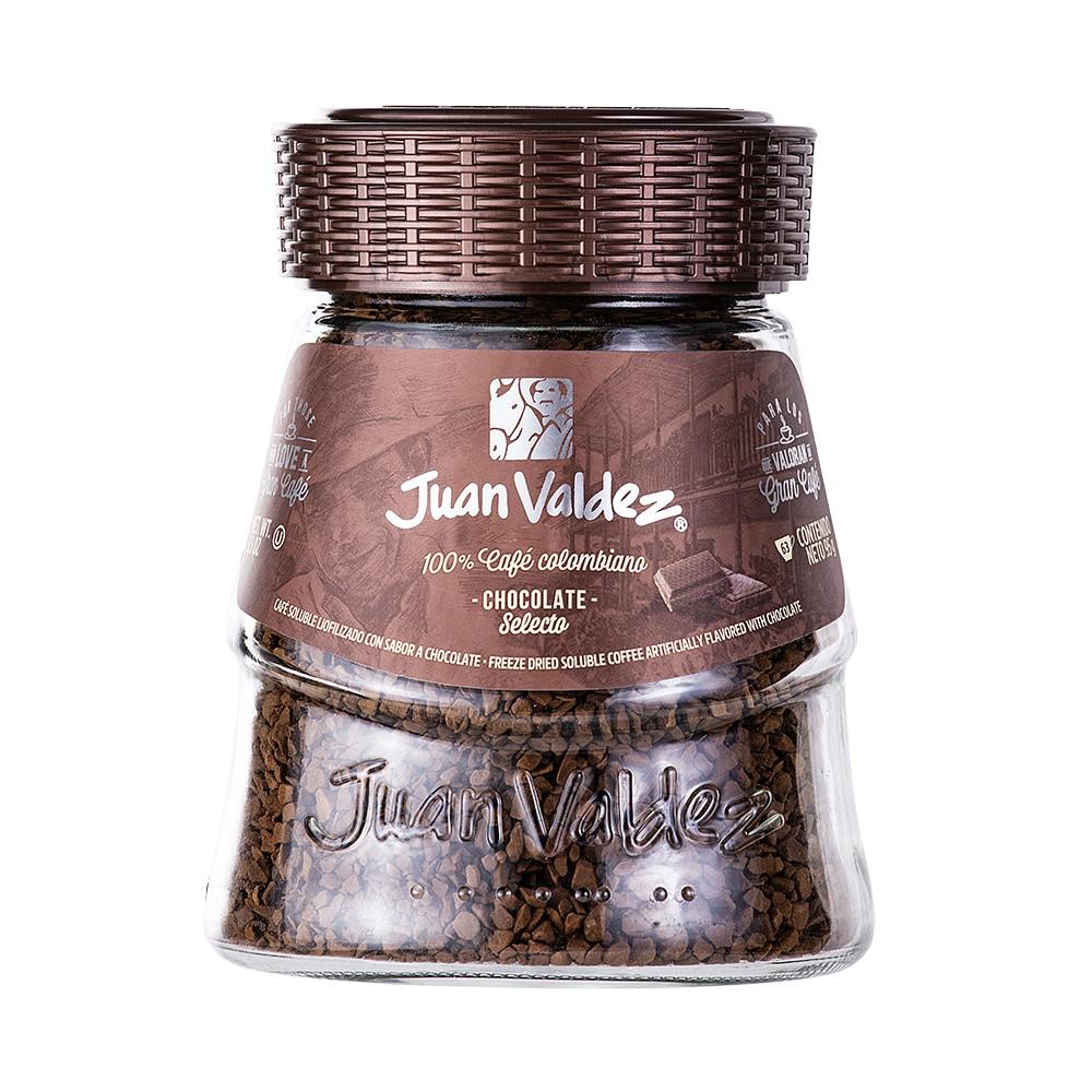 Café instantáneo sabor chocolate liofilizado