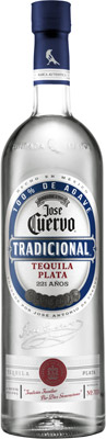 Tequila tradicional plata