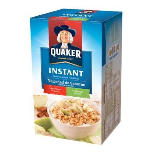 Cereal Instant de avena variedad de sabores