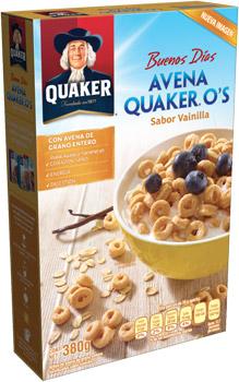 Cereal avena os vainilla