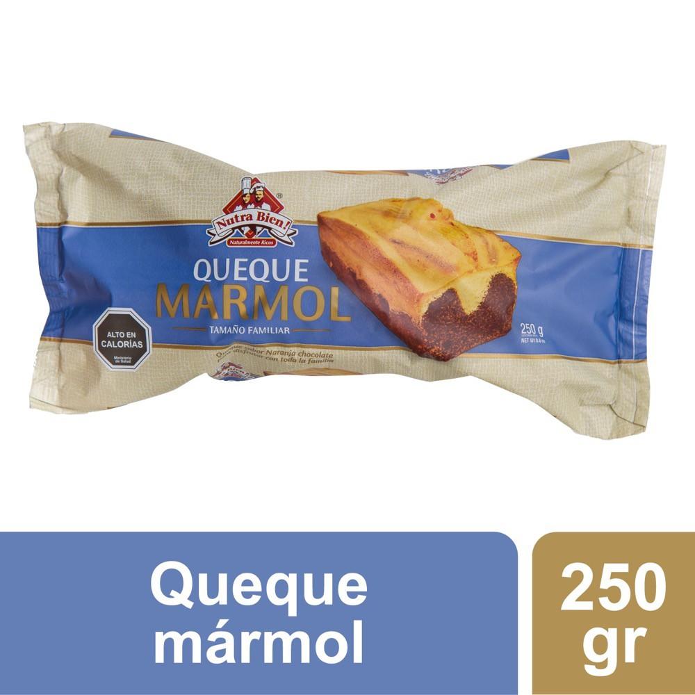Queque marmol sabor vainilla chocolate
