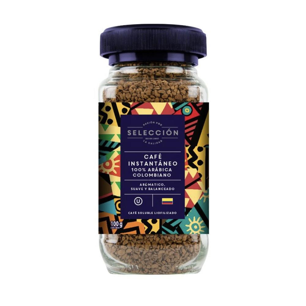 Café Instantaneo Liofilizado Frasco 100 g