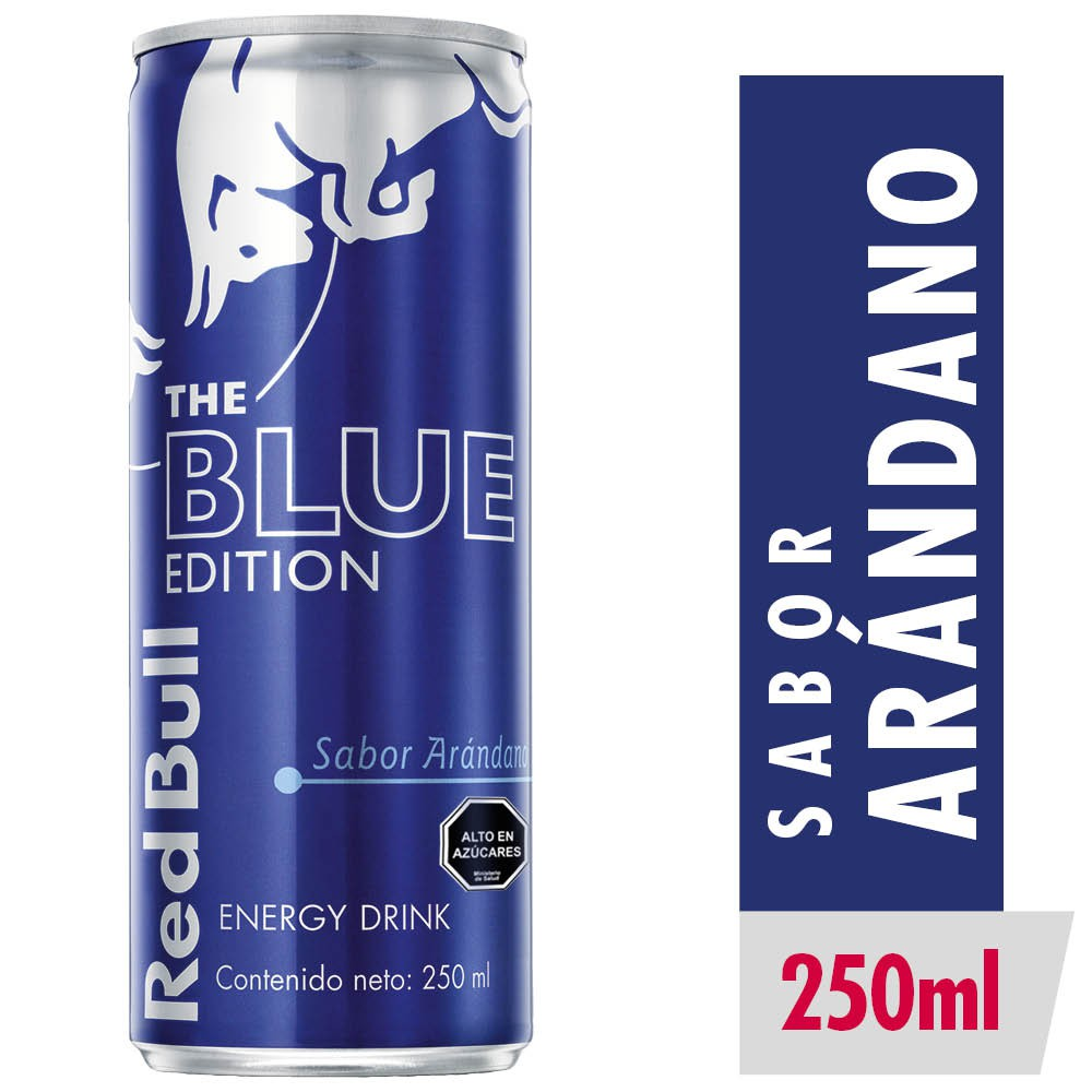 Energy drink blue edition blueberry