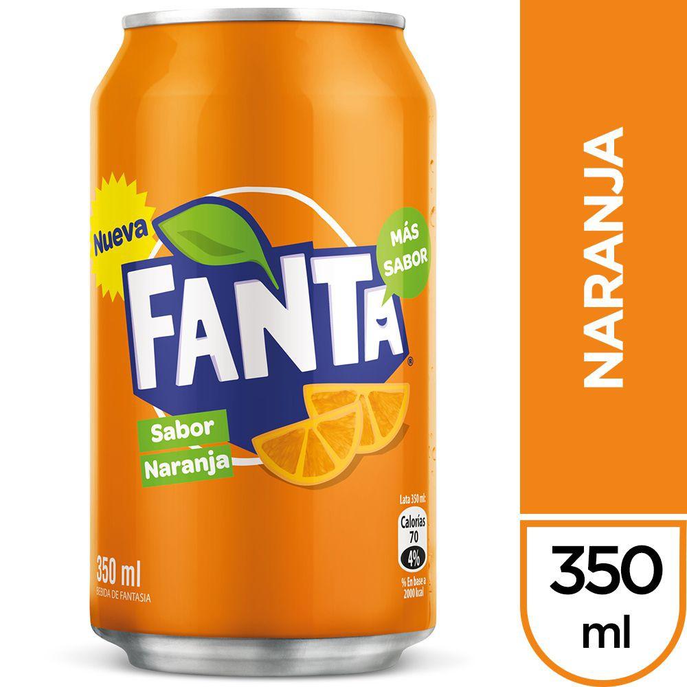 Bebida naranja 350 ml
