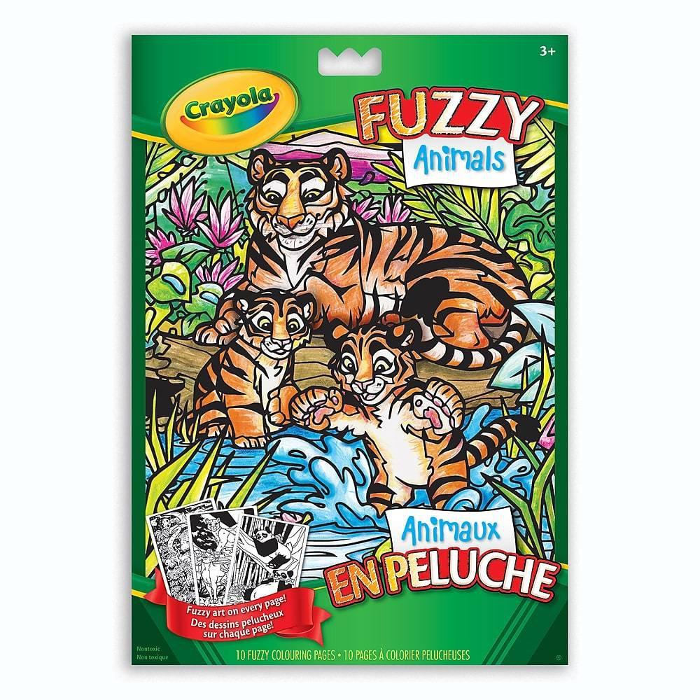 Crayola Fuzzy Animals Colouring Pages Crayola delivery ...