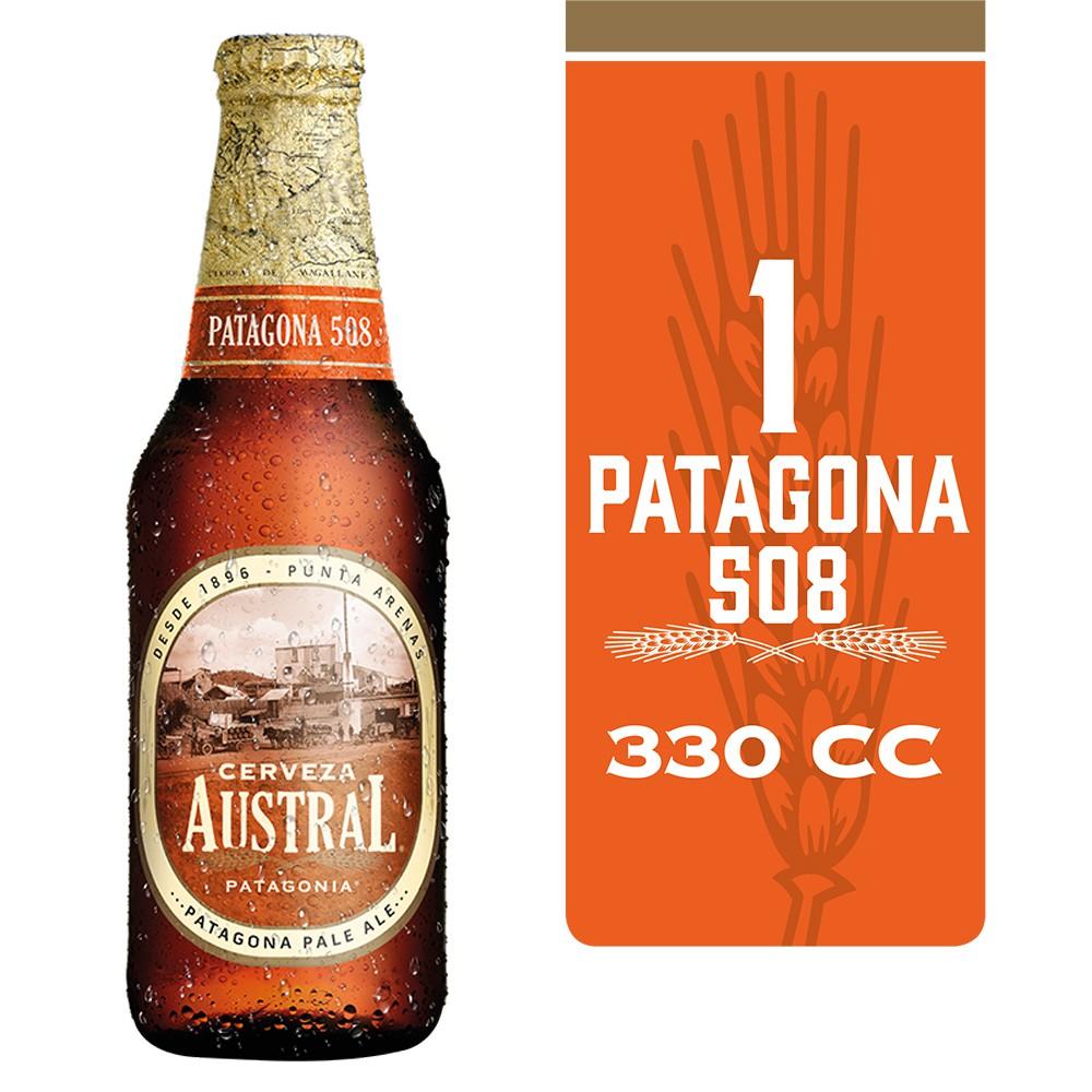 Cerveza patagona 508