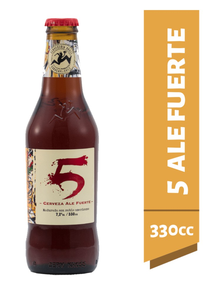 Cerveza 5 Aniversario Botella 330 ml