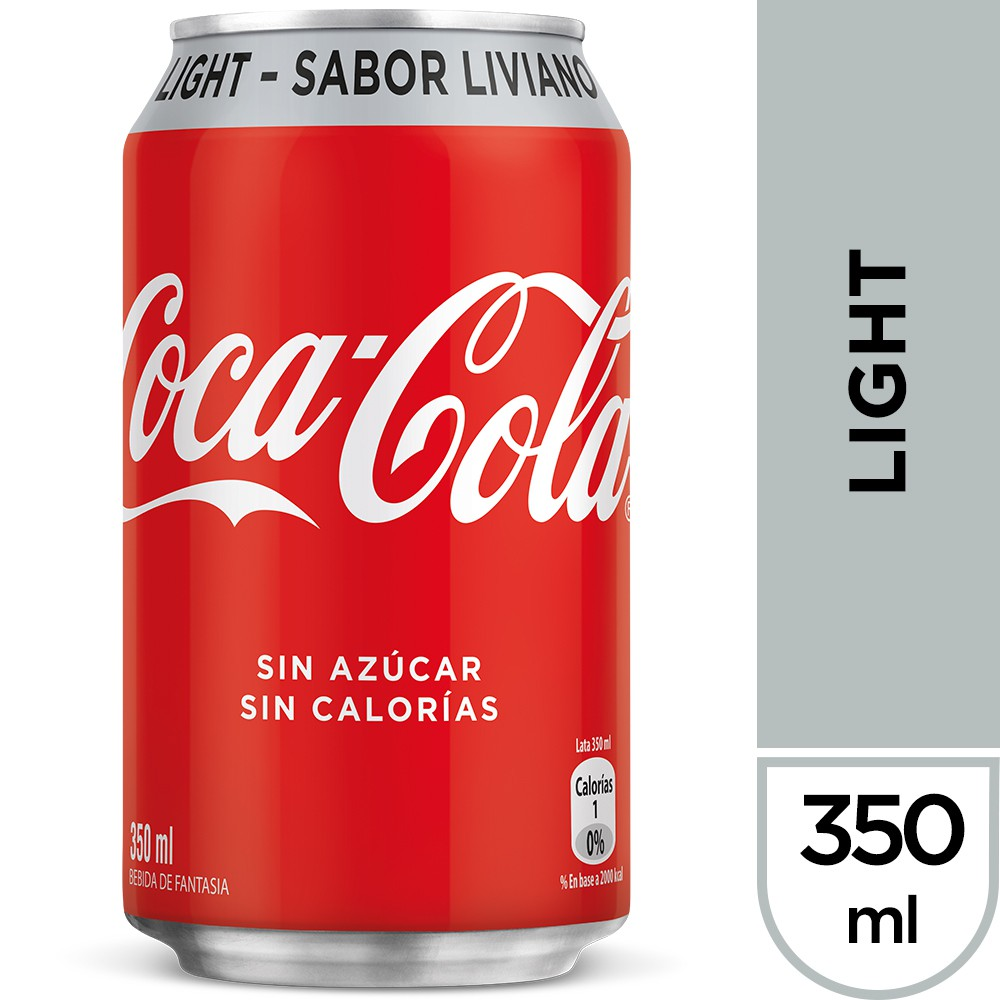 Bebida sabor light 350 ml
