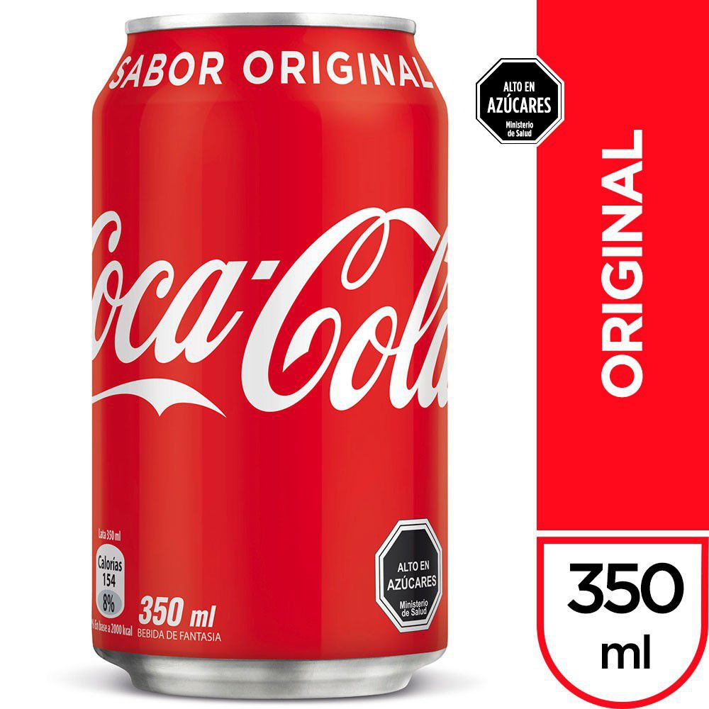 Bebida sabor original 350 ml