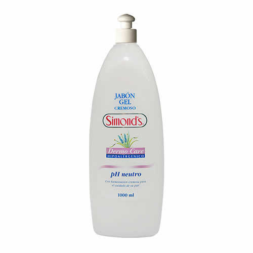 Jabón gel cremoso Dermo Care ph neutro