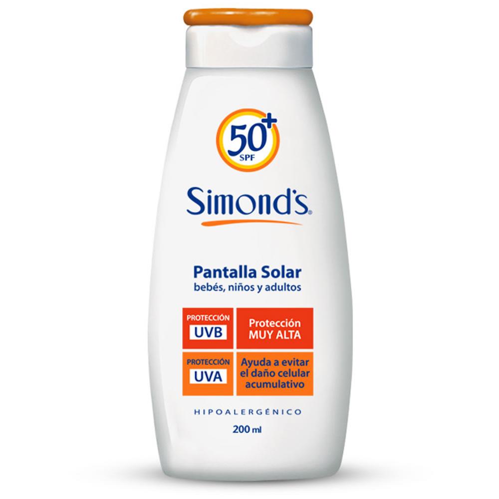 Pantalla solar hipoalergénica FPS 50+