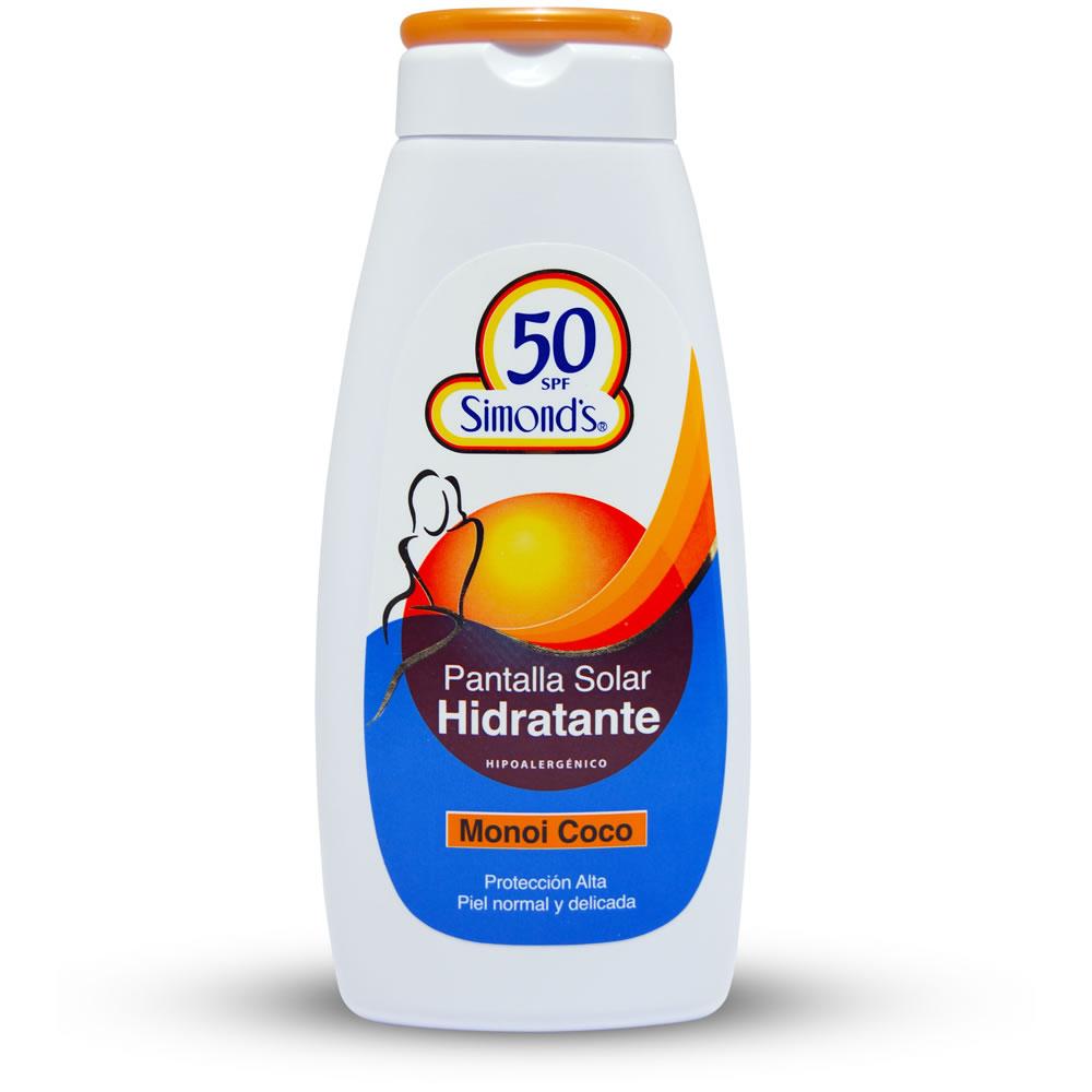 Protector Solar Monio Coco SPF 50 Frasco 200 ml