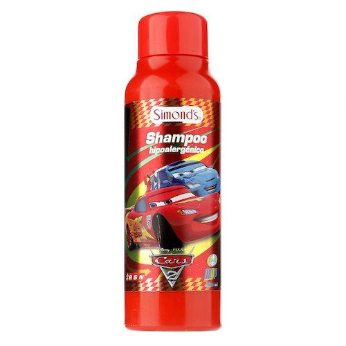 Shampoo Hipoalergénico Cars 2 Botella 220 ML