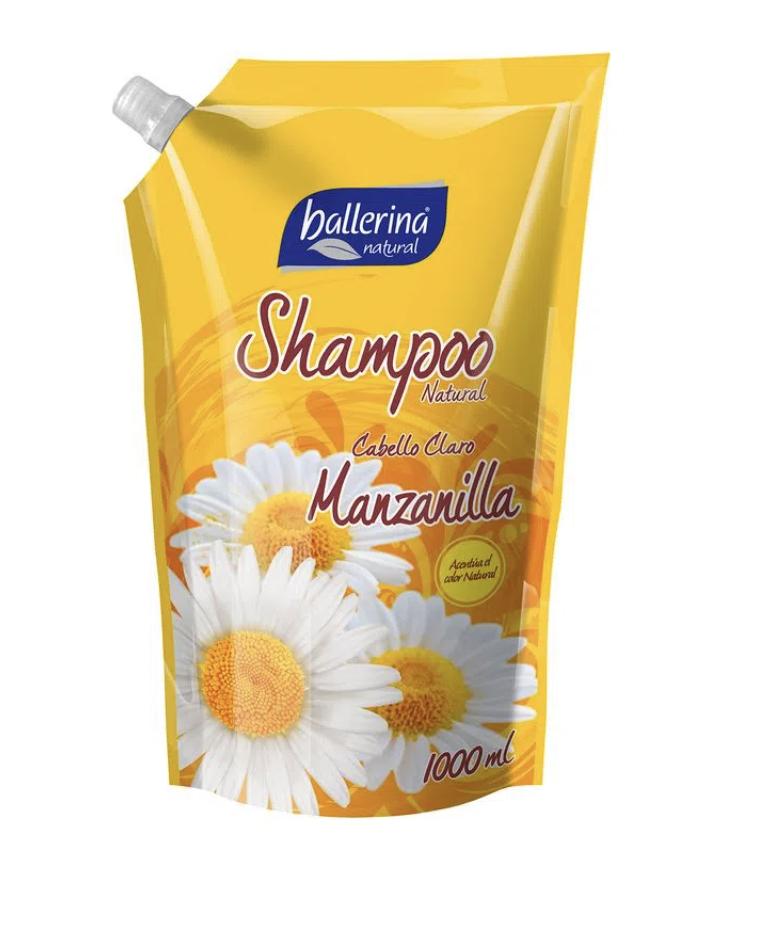 Shampoo Natural Manzanilla