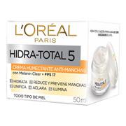 Crema facial humectante antimanchas hidra-total 5
