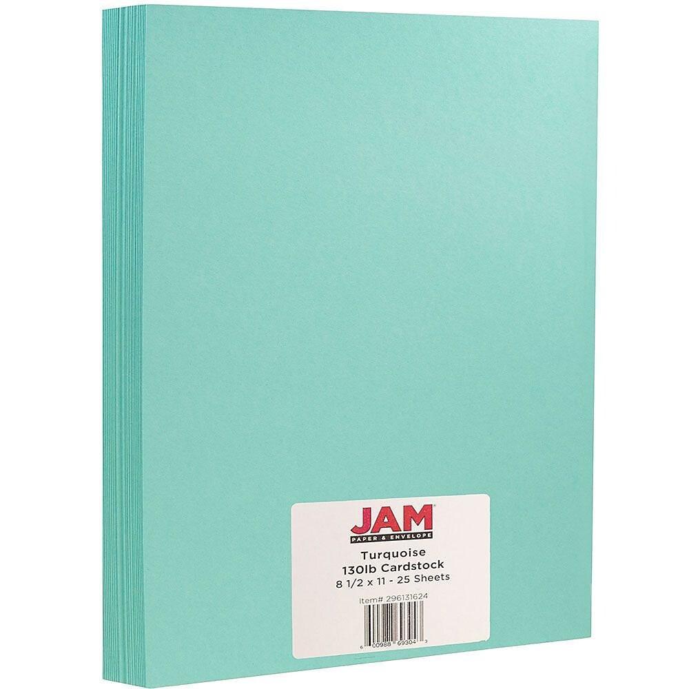 JAM Paper Matte Cardstock, 8 5