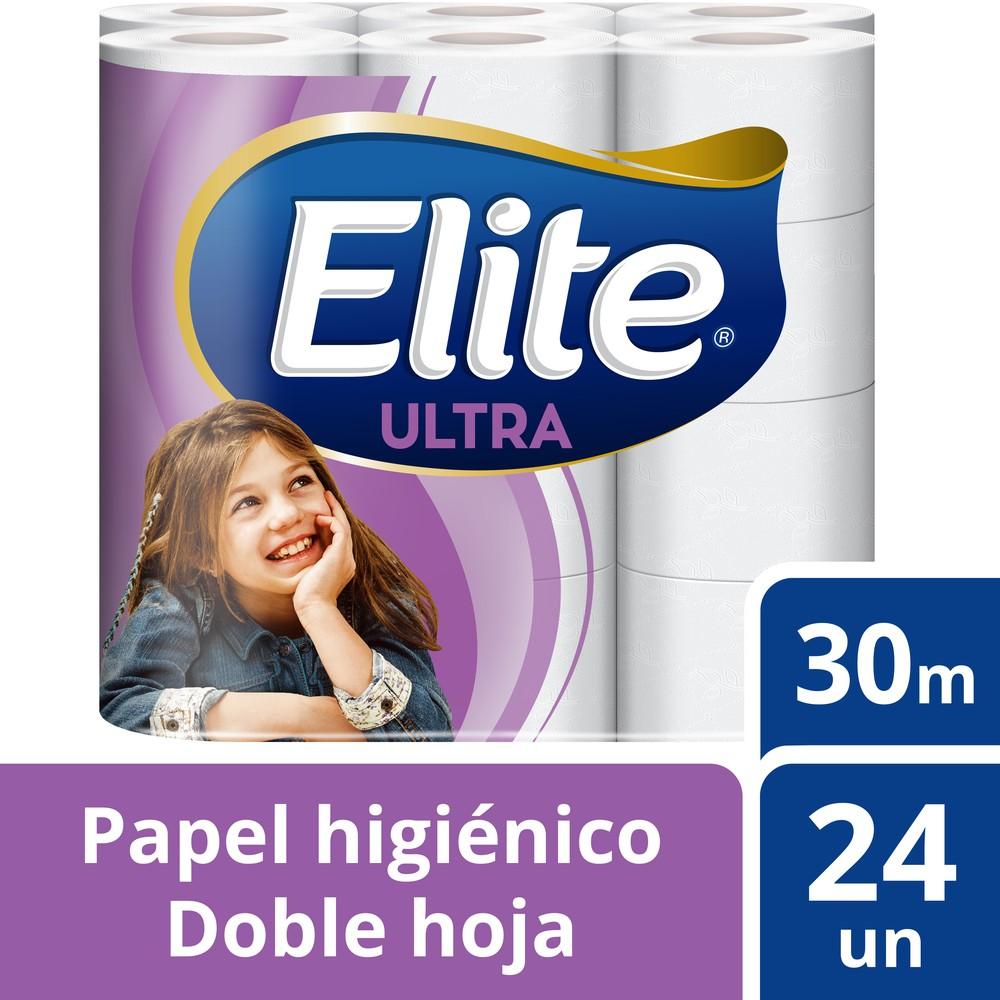 Papel higiénico doble hoja ultra