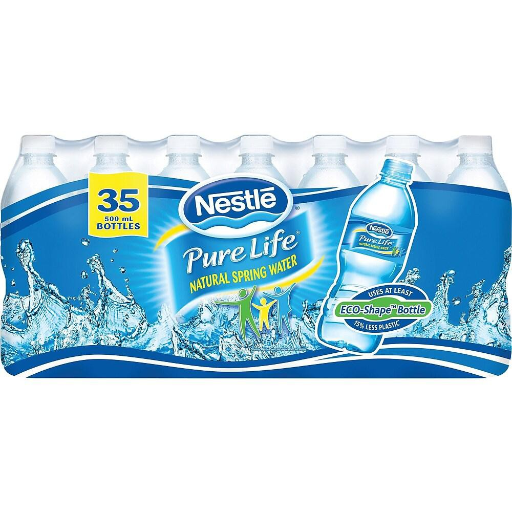 Pure Life natural spring water 35 x 500 mL