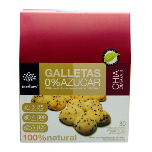 Galletas con chía  Caja 180 g