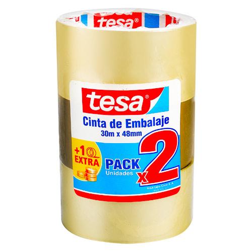 Tesa, Pack Cinta de Embalaje 3 Un