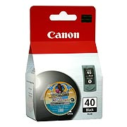 Cartridge para Impresora Modelo PG-40, IP 1600, Color negro