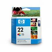 Tinta Cartridge Hp 22 C9352Al Color 6 ml